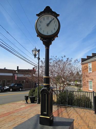 clock dillwyn buckinghamcounty virginia