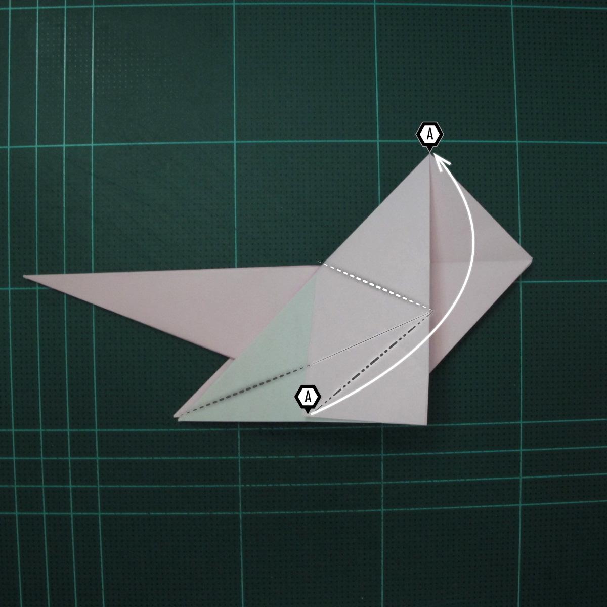 การพับกระดาษเป็นไดโนเสาร์ทีเร็กซ์ (Origami Tyrannosaurus Rex) 016