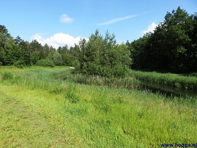 12-06-2014 Dronten Roggebotzand  20 Km (12)