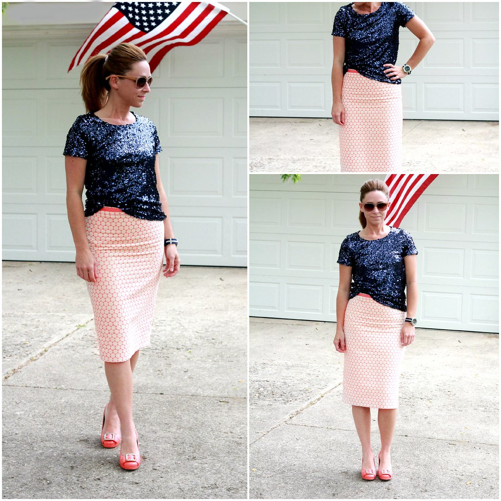 c89c2a5de4 ... cute modest pencil skirt outfits for summer via Kristina J blog