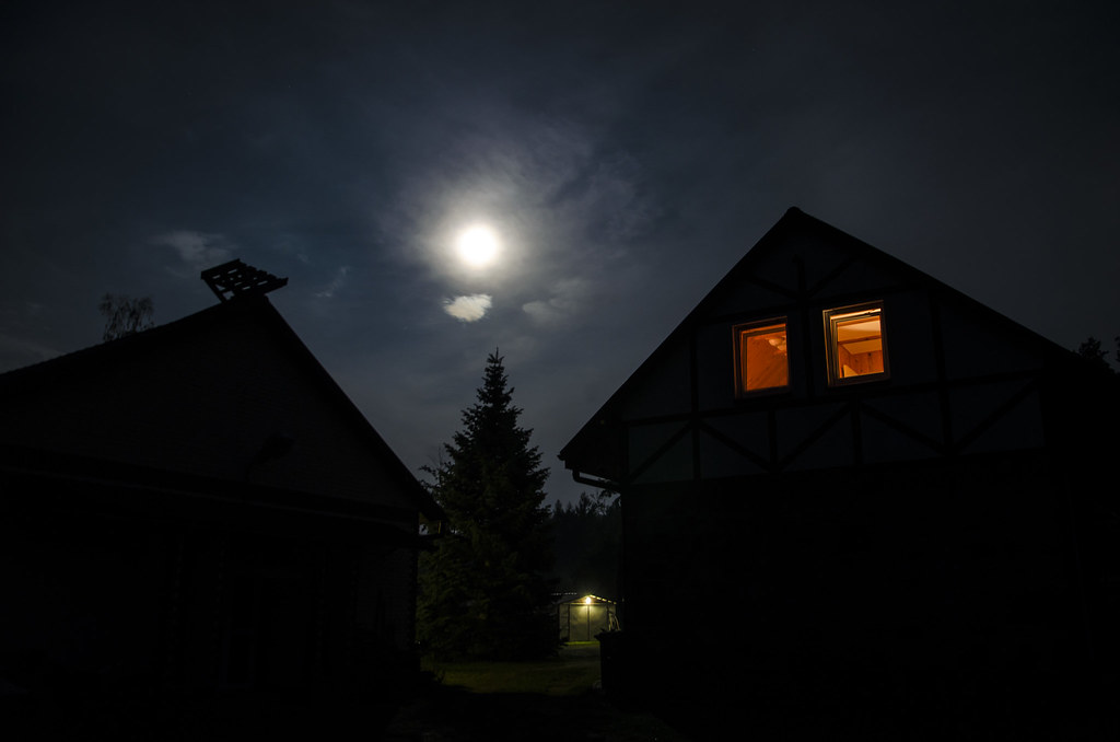 Full moon in Masuria