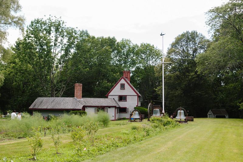 Çiftlik, Saltbox Çiftliği - Concord