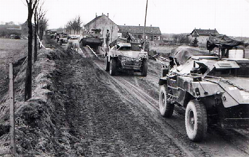 Humber scout cars