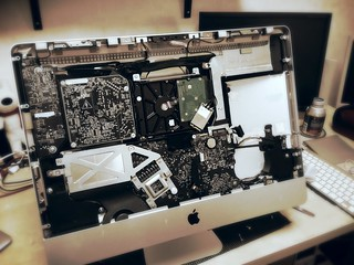 iMac mid 2011 SSD増設作業 | by civic-site