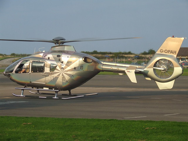G-OPAH Eurocopter EC135 Helicopter