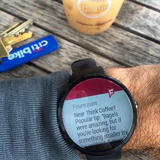 Another one. Digging seeing this working so well! #Moto360 | by dpstyles™