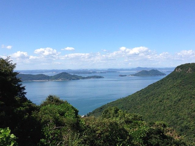 Looks like Welly: View from the top of the Yashimaji mountain