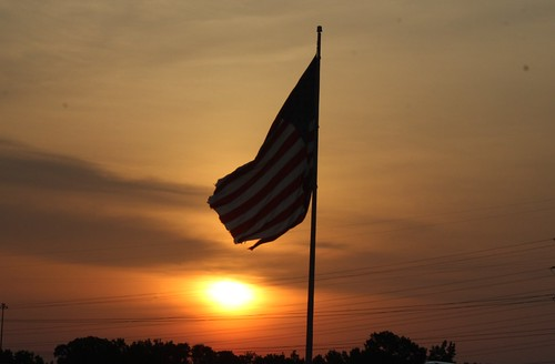 morning usa sun sunrise flag americanflag