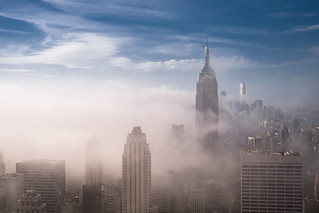 Fog and Midtown, NYC | by RBudhu