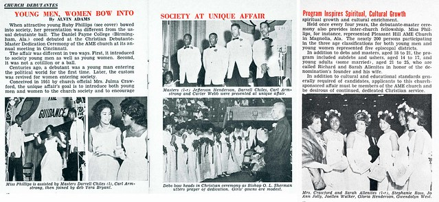 Beautiful Black Debutantes - Jet Magazine, June 4, 1964