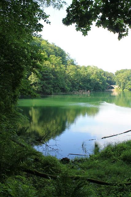 Emerald Lake (Jezioro Szmaragdowe), Szczecin, Pomorze, Poland