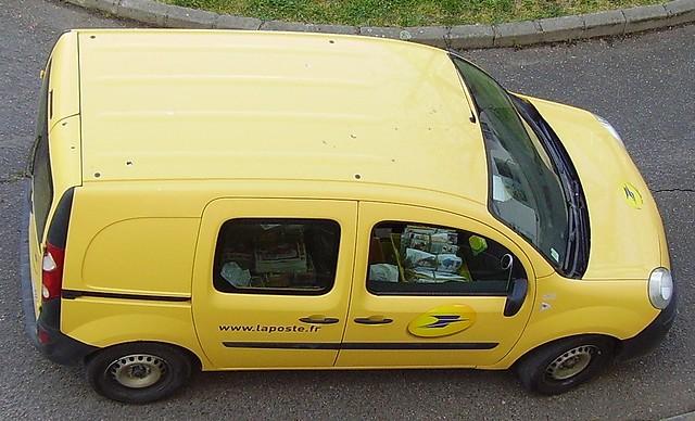 Renault Kangoo de La Poste