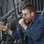 Sat, 14/06/2014 - 7:15pm - Damon Albarn wowed us with solo songs, Blur tunes, and a surprise dose of Gorillaz. Photo by Laura Fedele