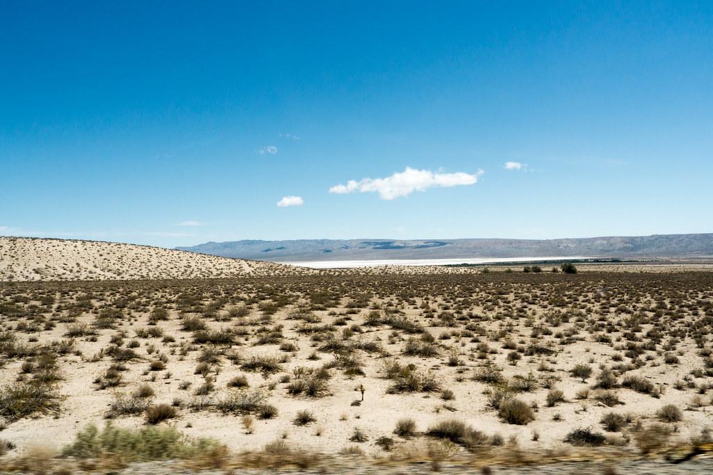 Desert Salt Lake Bed More Desert Snapped From The Car D Flickr