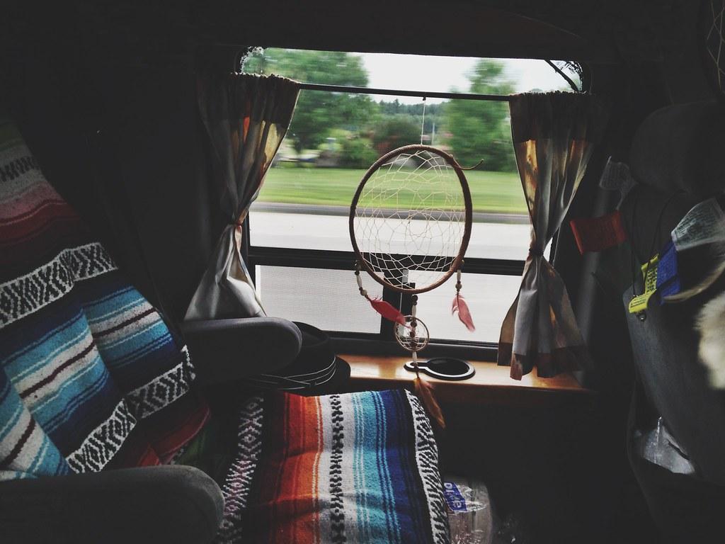 We love our van home!