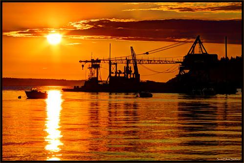 sunset seascape color beach water canon landscape eos washington dramatic 7d whidbeyisland pacificnorthwest pugetsound washingtonstate trawler freeland admiraltyinlet islandcounty mutinybay eos7d dtwpuck scottsmithson scottelliottsmithson