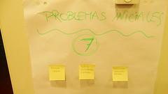 Otro de los temas tratados fue la puesta en común de los problemas iniciales