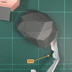 วิธีทำของเล่นโมเดลกระดาษซุปเปอร์แมน (Chibi Superman  Papercraft Model) 016