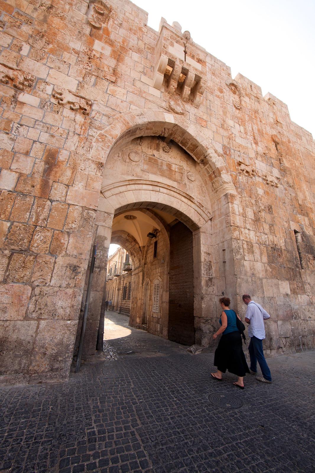 Jerusalem_OLd City_Lions' Gate_ Sha'ar HaArayot_1_Noam Chen_