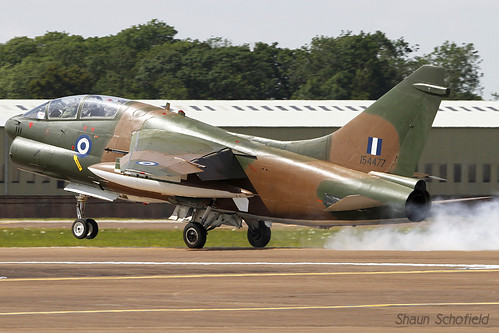 LTV TA-7C Corsair II 154477 Hellenic Air Force RAF Fairford 09/07/14 | by Shaun Schofield