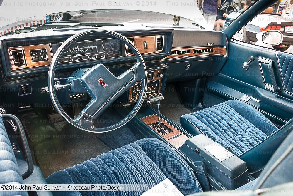 1987 Oldsmobile Cutlass Supreme Interior By John P Sullivan
