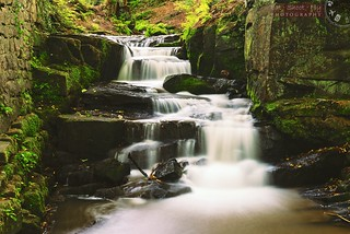 Lumsdale Falls | by Adrian Court LRPS