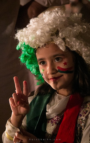 A Little Girl supporting and dreaming for a New Pakistan of Imran Khan where she will have all her rights and see her country proud in the whole world.
