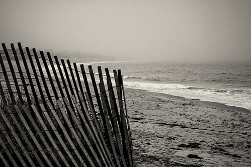 atlantic art beach calm coast color destination dune fence fine grass image landscape nature ocean outdoors peace photo photograph sand scenic sea season serene shore sky summer tourism travel vacation surf wave fog rhodeisland charelstown