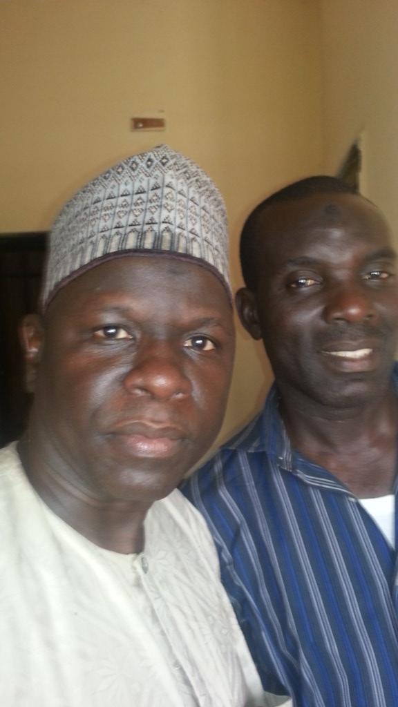 Abubakar Kalajanga and Mohamman Babalala of BBC Hausa | Flickr