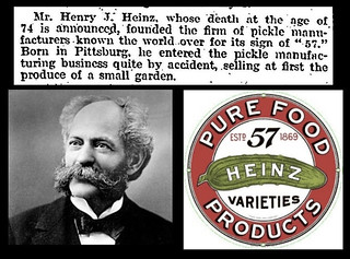 14th May 1919 - Death of Henry J. Heinz | by Bradford Timeline