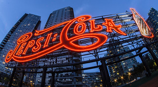 Pepsi - Cola Sign, Long Island City | by russ925