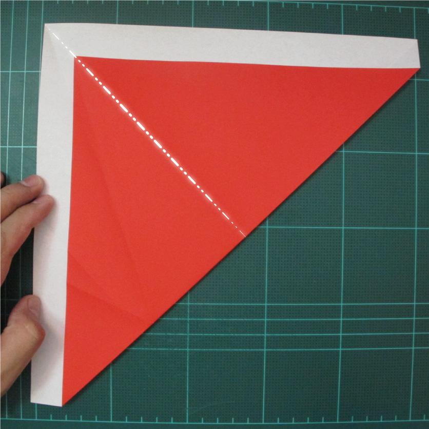 การพับกระดาษเป็นรูปสัตว์ประหลาดก็อตซิล่า (Origami Gozzila) 005