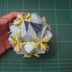 วิธีพับบอลกระดาษแบบเอสเตลล่าฟลอร์ (Estrella Flor Kusudama)020