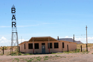 Bar on pre-1937 Route 66 alignment, Correo, New Mexico | by RoadTripMemories