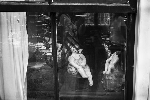 Women behind the window in Amsterdam | by Claudio Gomboli
