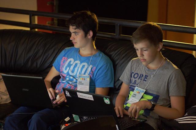 Jugendliche Hacker