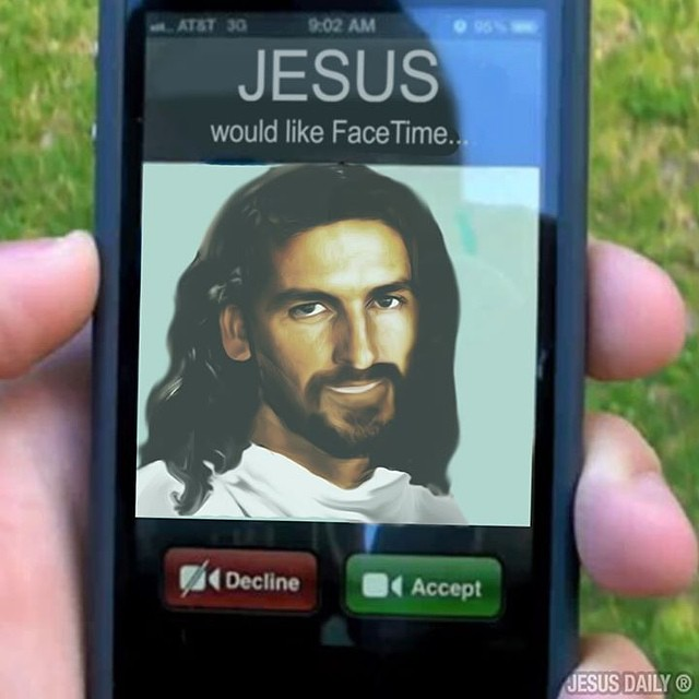 Like if you are going to answer the call when Jesus calls