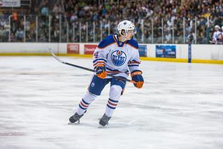 Edmonton Oilers Rookies vs UofA Golden Bears | by IQRemix