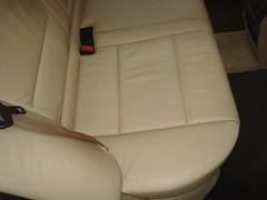 BMW X5 CUERO. Asiento trasero derecho Despues