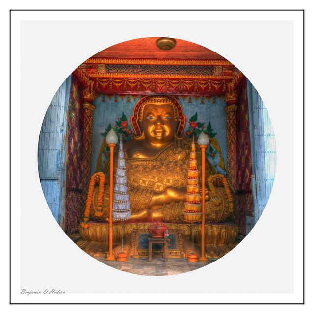 Laughing Buddha #2 ((Circle)