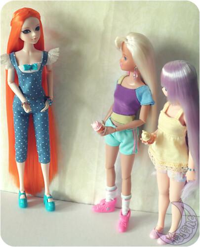 Friendship & Ice Cream_2 | by kasane_and_ko
