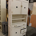 White antique sideboard