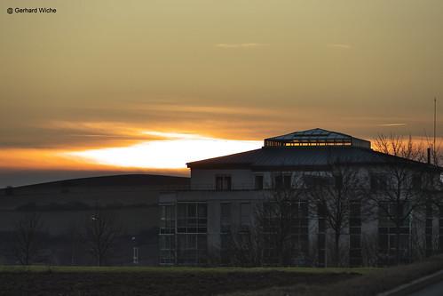 sunset sonnenuntergang outdoor industrie industriegebiet sonne sun himmel sky