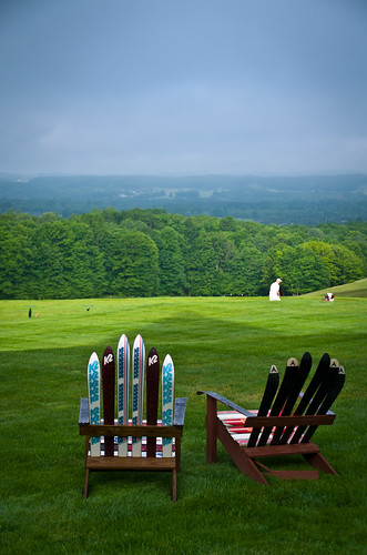 trees forest golf landscape chair driving view chairs michigan treetops course skis range adirondack gaylord