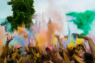 Color Festival Sacramento   by Steffane Lui