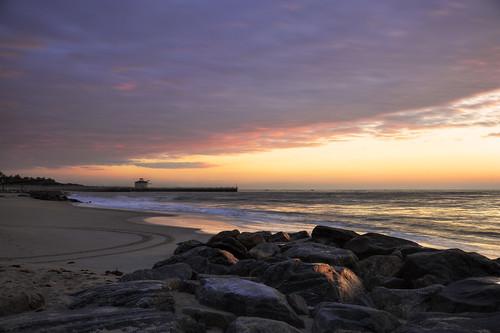 ocean pink usa sun beach beautiful clouds sunrise wonderful lens dawn pier early nikon rocks day waves angle florida cloudy ngc wide peaceful atlantic glorious inlet fl nikkor rise hdr boynton