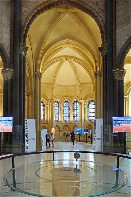 L'ancienne église de Saint-Martin-des-Champs (musée des arts et métiers, Paris)