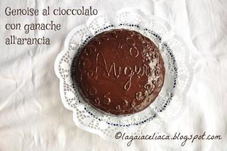 genoise cioccolato arancia | by mammadaia
