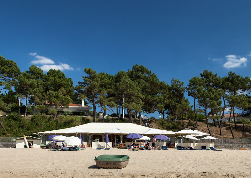 https://www.twin-loc.fr Arcachon - Club plage Pereire - Bassin Gironde Mer - Photo Picture Image