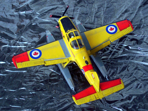 1:72 Percival CSR-131 'Provost'; aircraft '901' of No. 440 Communications and Rescue Squadron, Canadian Air Force; CFB Winnipeg, Canada; summer 1974  (Whif/Matchbox kit conversion) | by Dizzyfugu